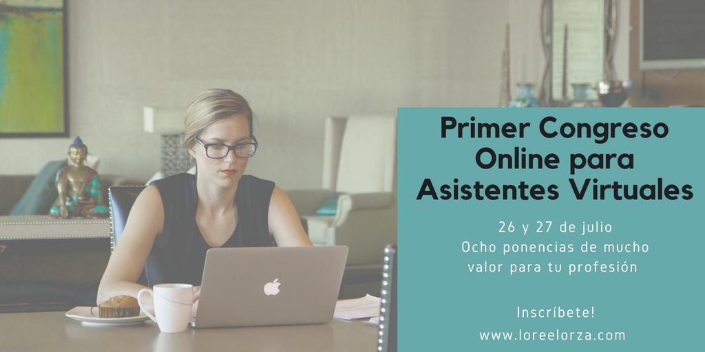 I Congreso Online de Asistentes Virtuales