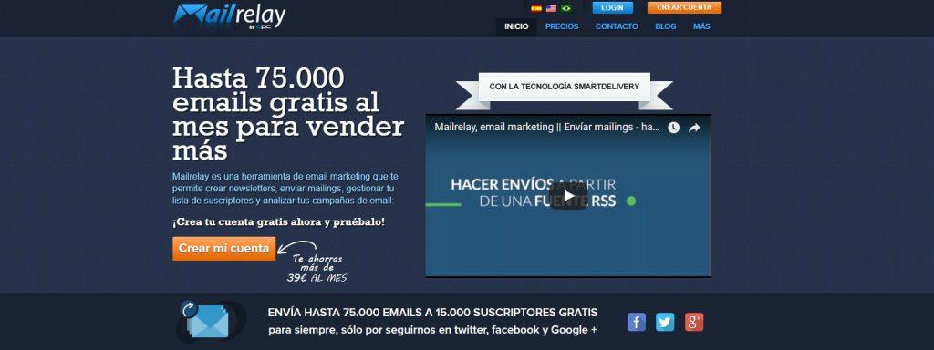 Mailrelay. plataforma de Email Marketing