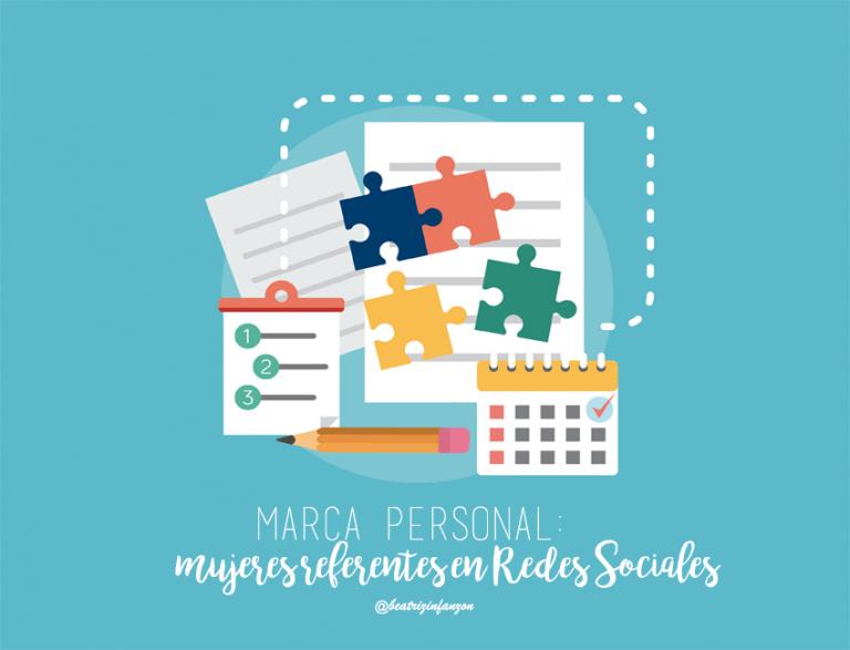 5 mujeres referentes con su marca personal en Redes Sociales